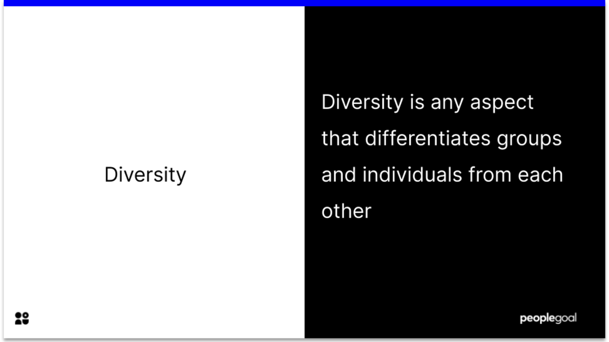 What is diversity? Diversity and Inclusion Guide