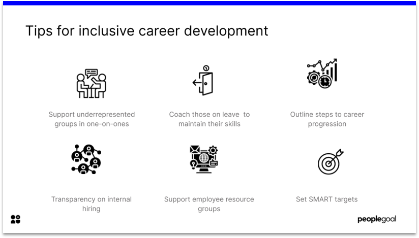 Career Steps for Inclusive Professional Development