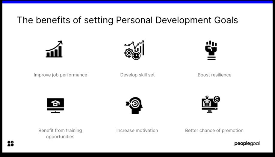 benefits of setting personal development goals
