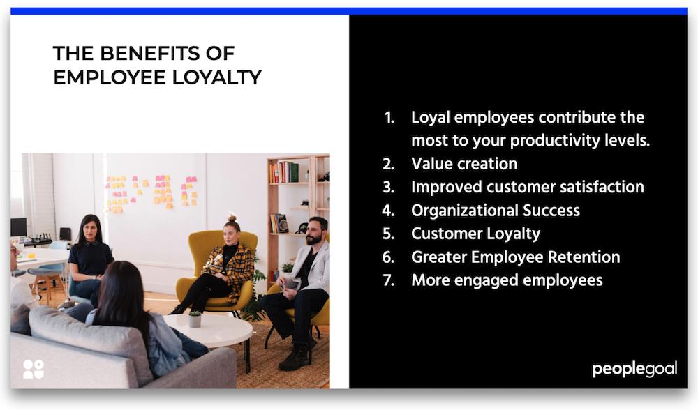 The benefits of employee loyalty