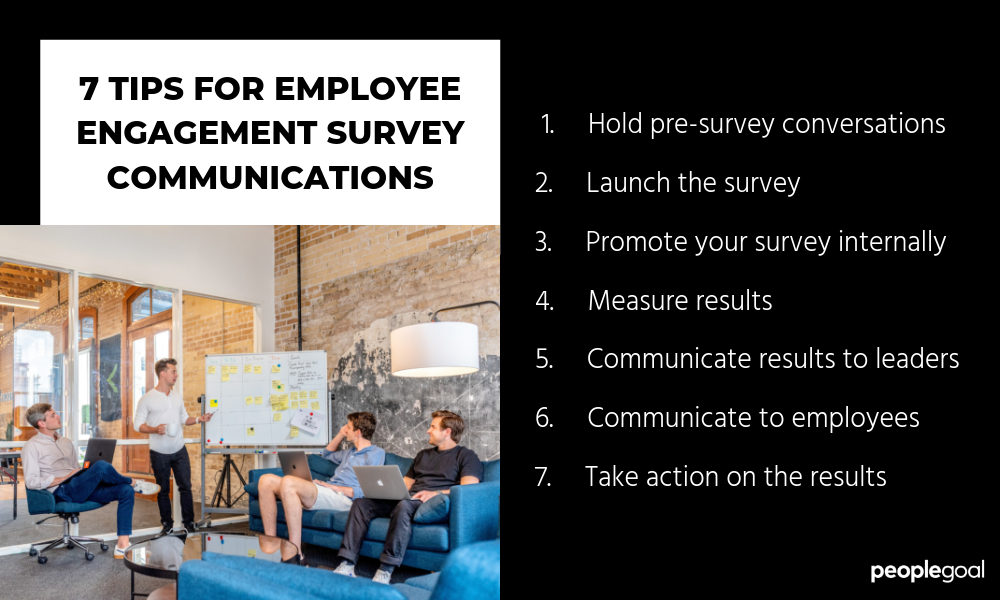 employee engagement survey communications
