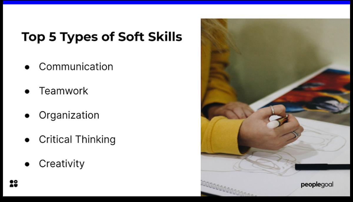 soft skills examples peoplegoal