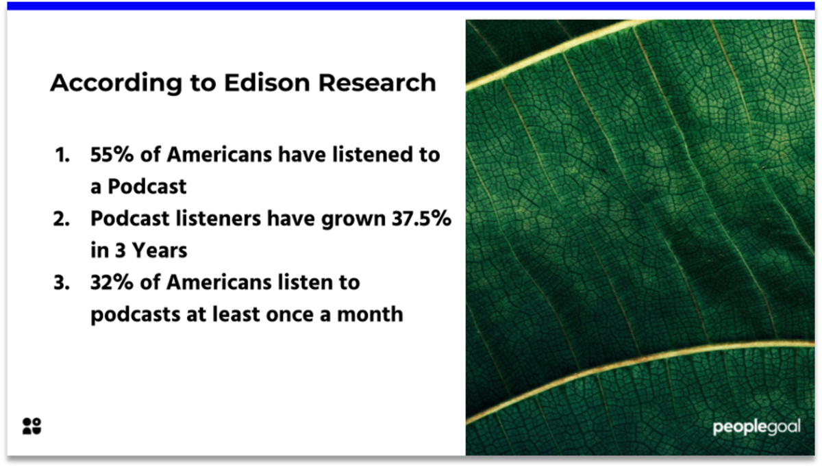 top 10 hr podacasts edison research statistics