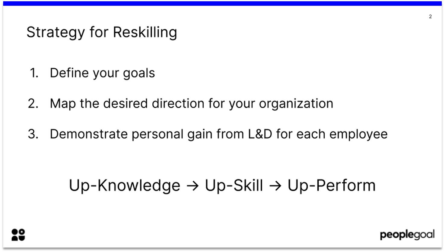 strategy for reskilling