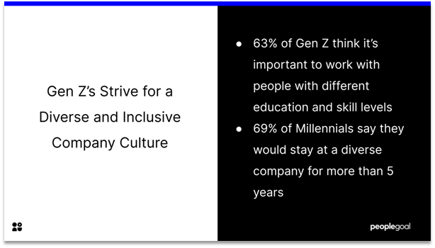 Gen Z Employee - diverse and inclusive