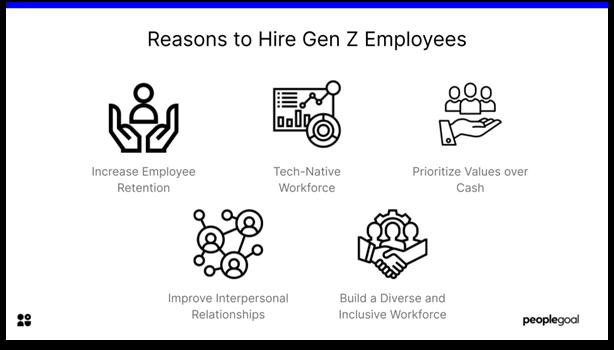 Gen Z Employee - reasons to hire gen z