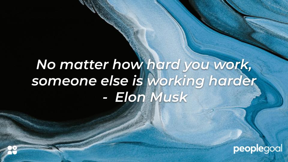 Elon Musk hard work quote