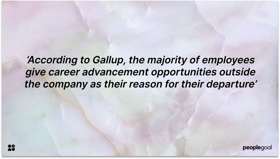 Career steps for Employee Retention