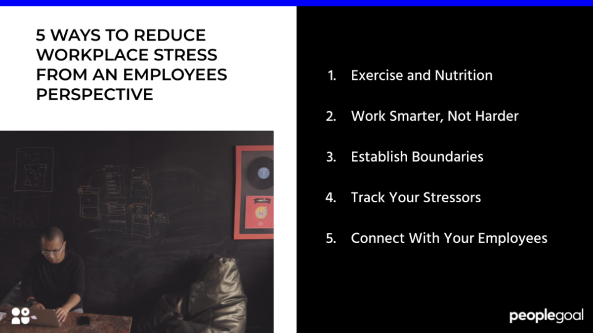 10 Ways to Reduce Workplace Stress