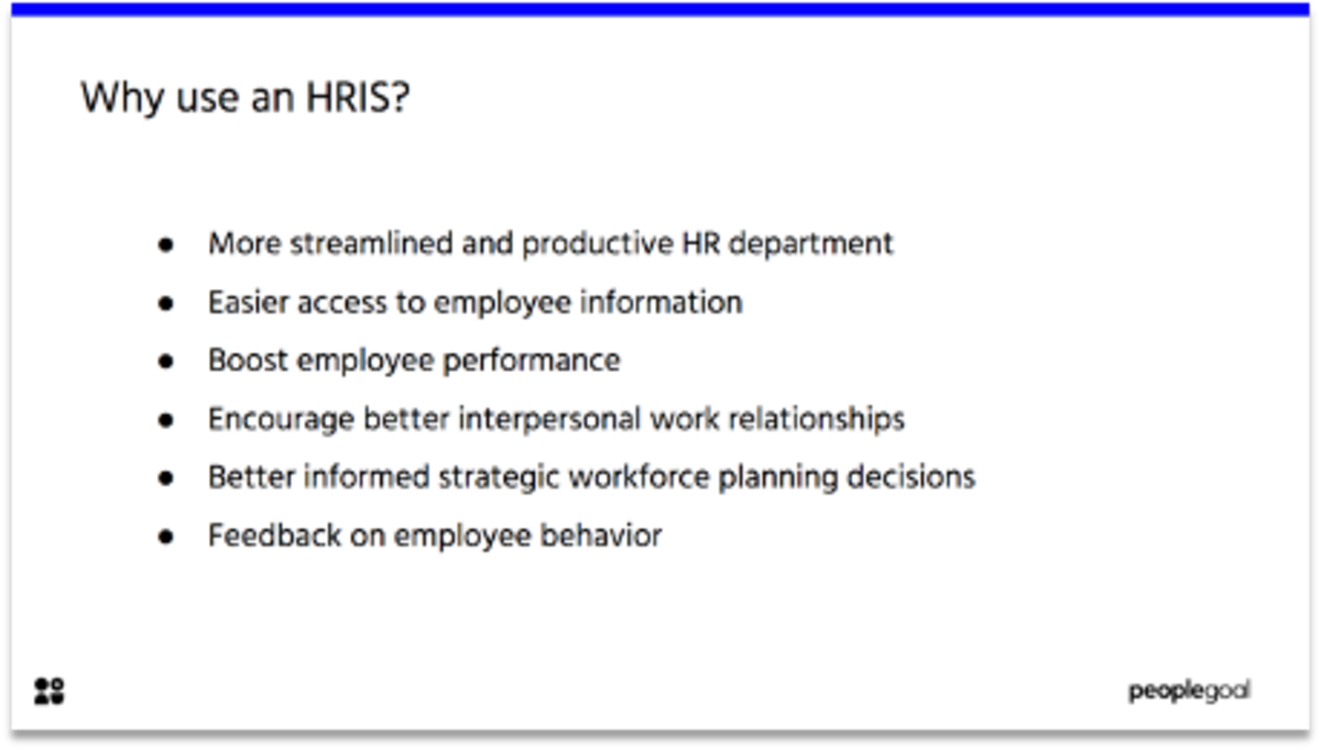 Why use HRIS Systems