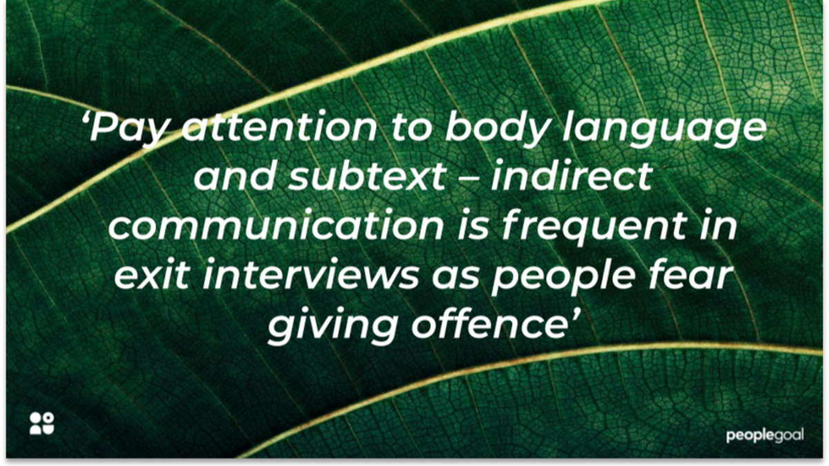 How exit interviews can help improve employee retention