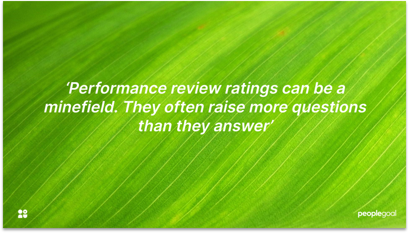 Annual performance reviews and Continuous Feedback
