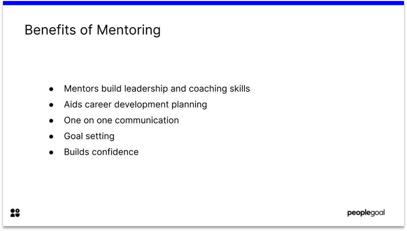 Benefits of Mentoring for Employee Growth