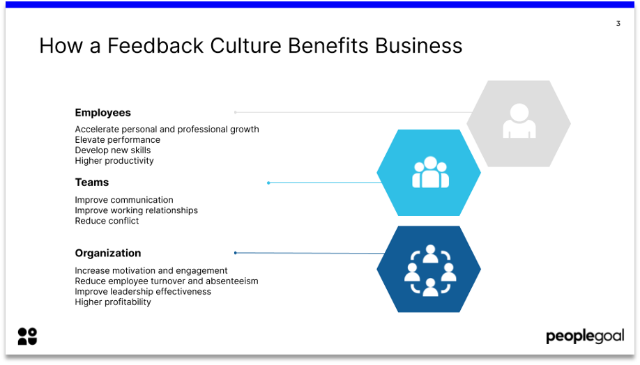 how a feedback culture benefits business