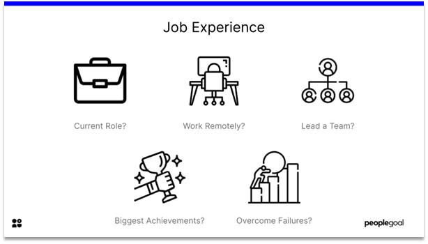 Interview Questions - job experience