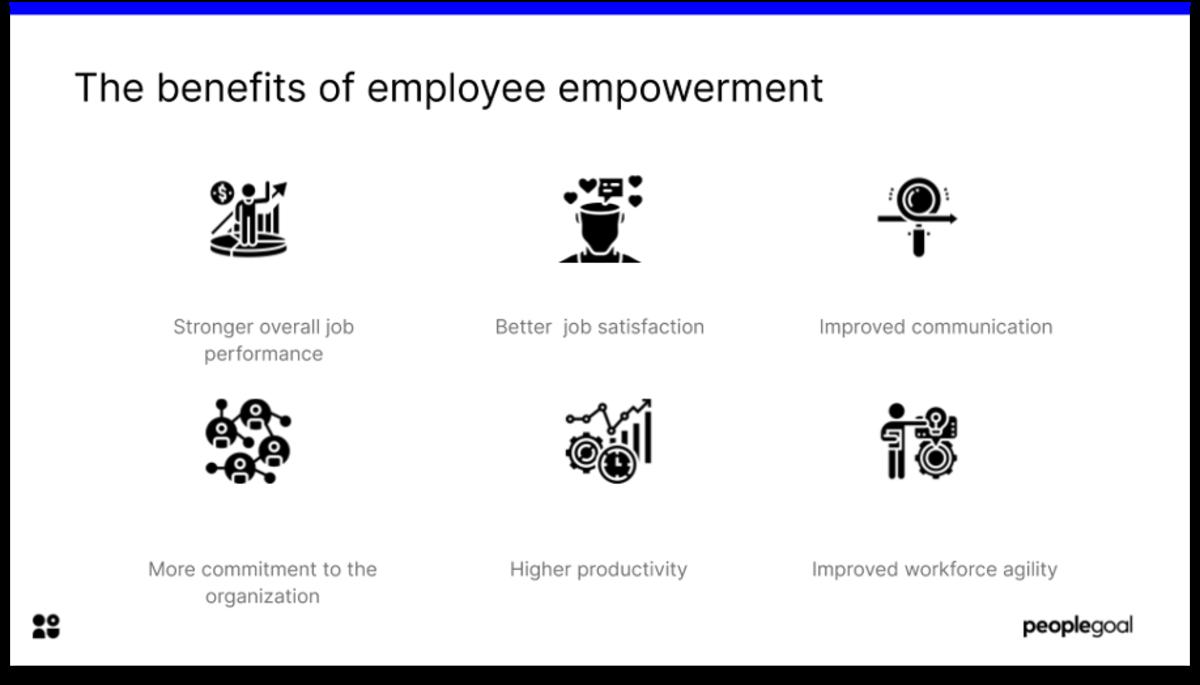 employee empowerment benefits