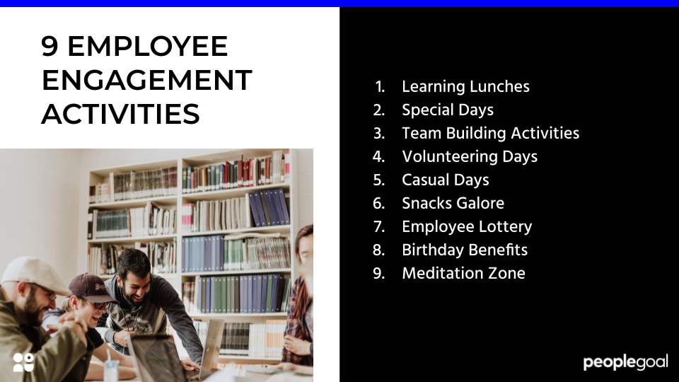 9 Employee Engagement Activities to Boost Motivation