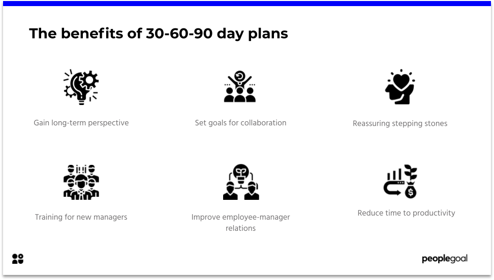 Benefits of 30-60-90 Day Plan