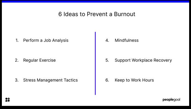 burnout - tips