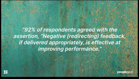 negative feedback statistic