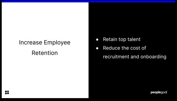 Development Planning - increase employee retention
