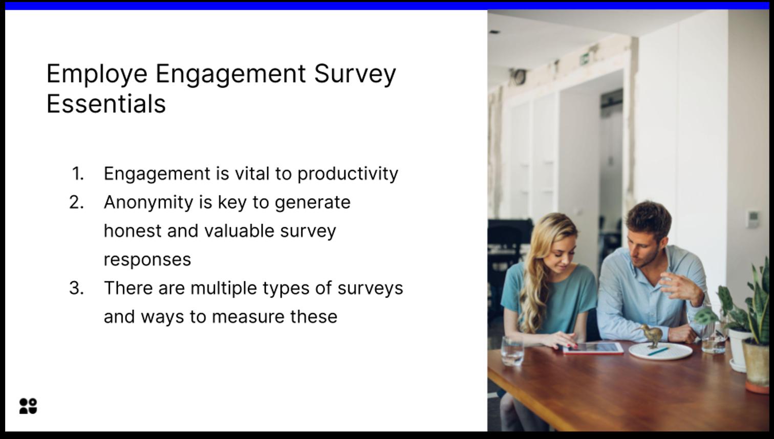 Employee Engagement Survey Essentials