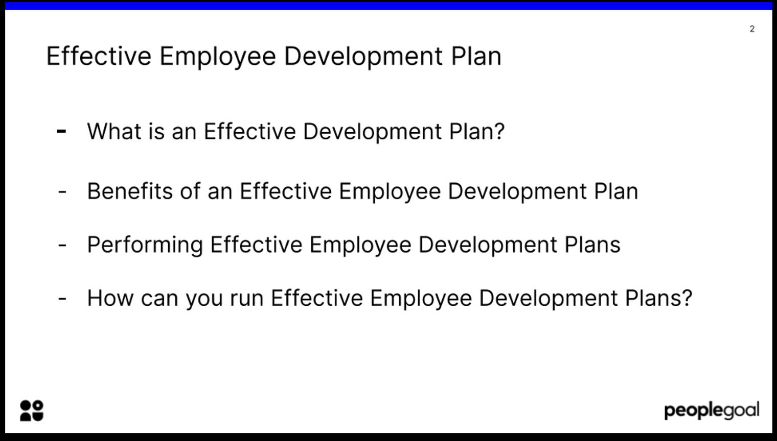 Effective Employee Development Plans introduction