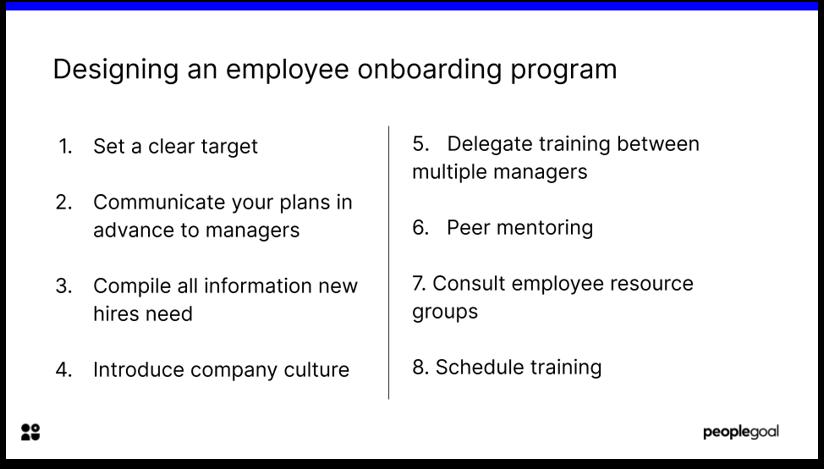 How to Design an Employee Onboarding Program