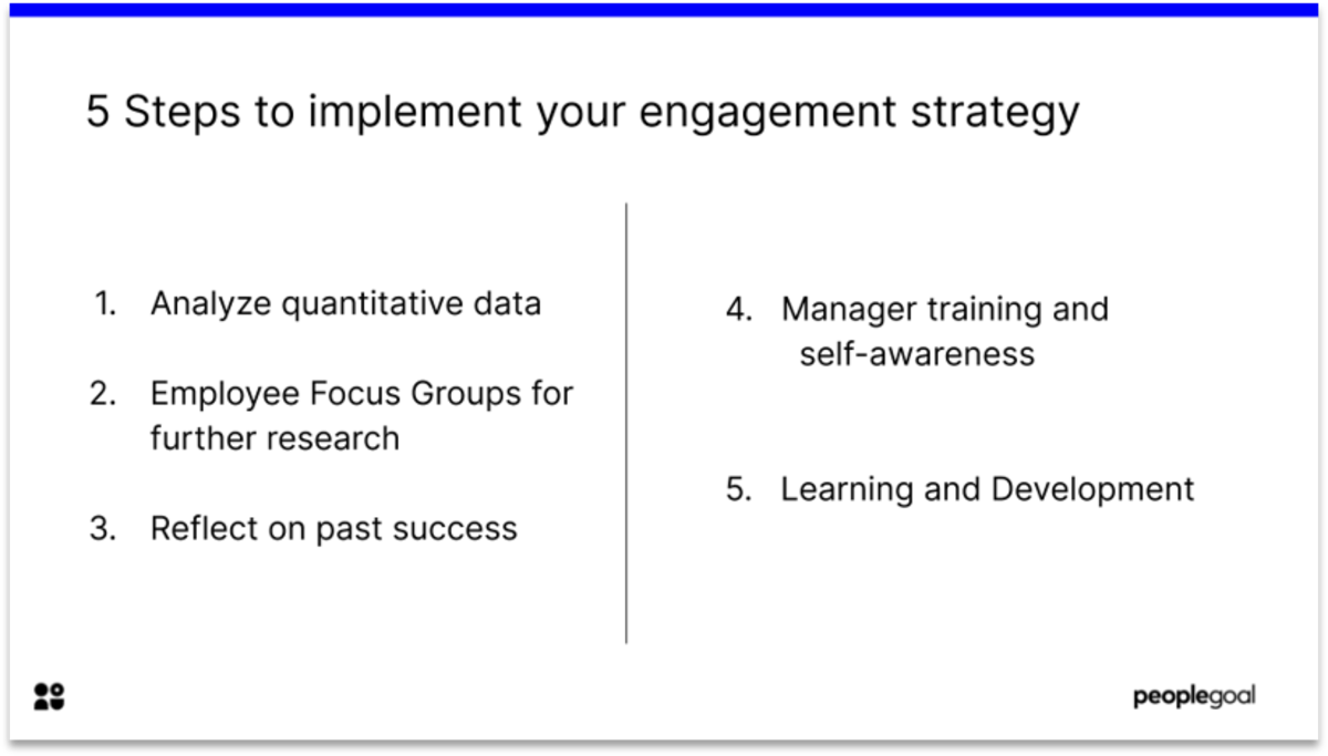 Employee Engagement Surveys : 5 Steps to Implement Positive Change