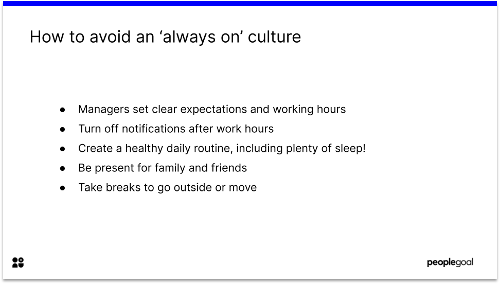 Employee Communications Avoid Always On Culture