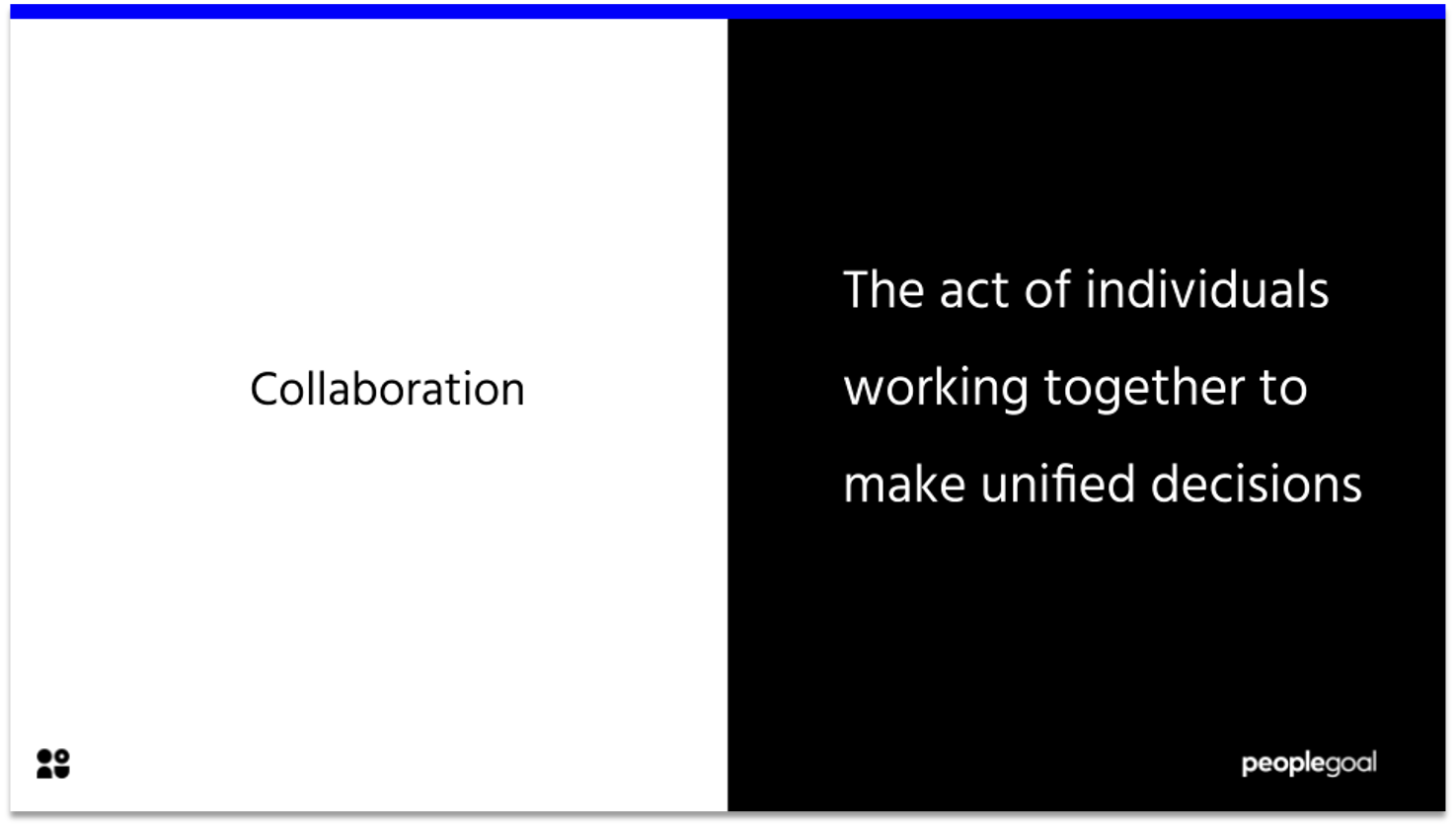 collaboration - manager comments for the next review cycle