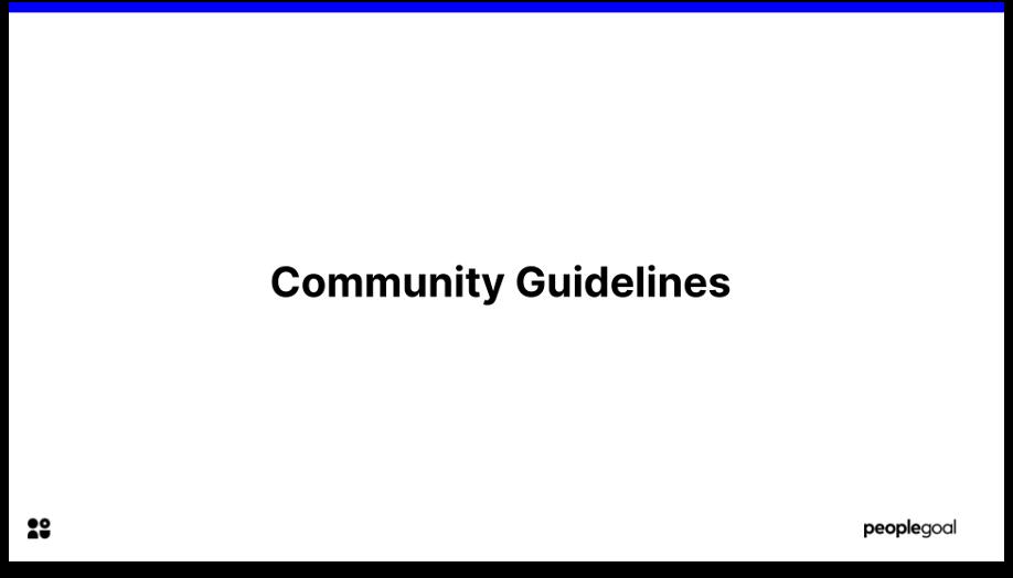 peopleheroes HR slack community guidelines