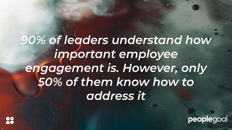 statistic on application of employee engagement