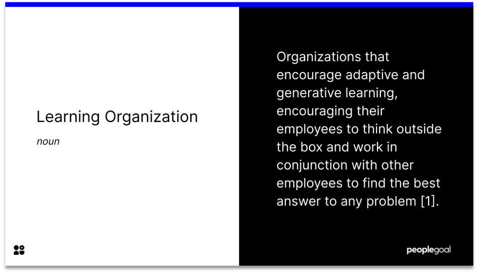 learning organization - definition