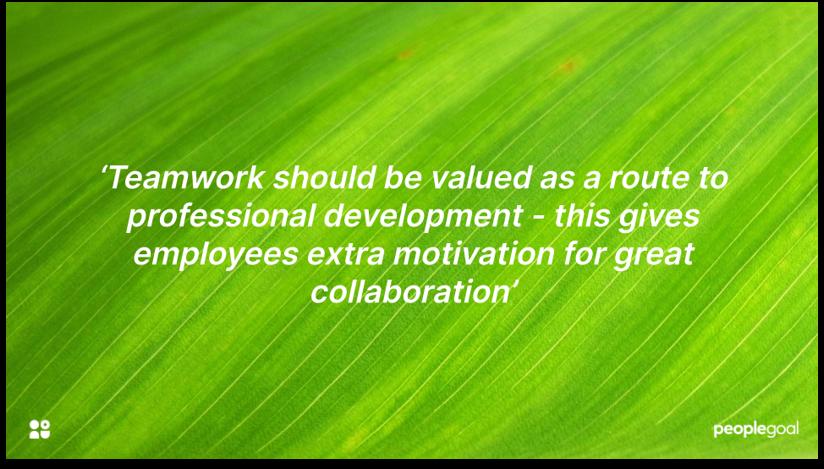 Team building for team engagement