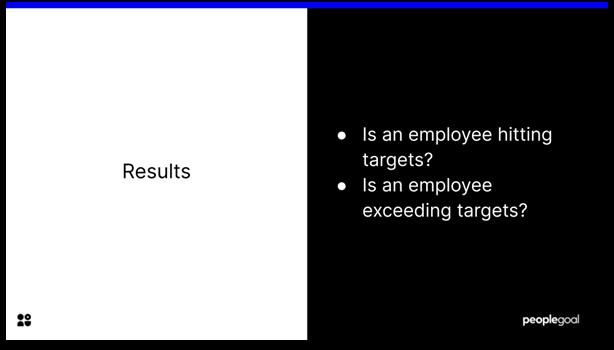 Key Performance Indicators - results