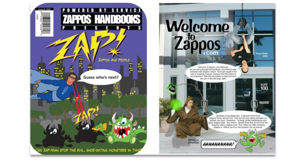 Employee Handbook ZAPPOS
