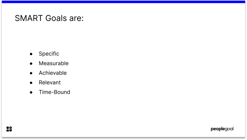 SMART Goals Template for Word and Google