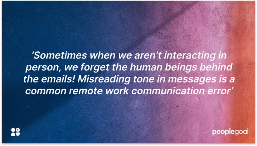 Quotation on communications for remote workers