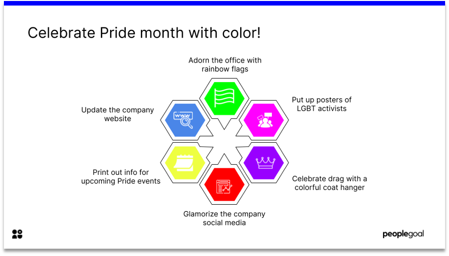 celebrate pride month with color