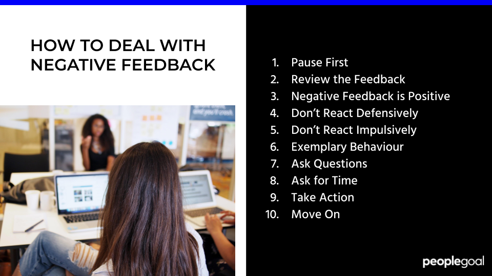 10 Steps to Help Deal with Negative Feedback