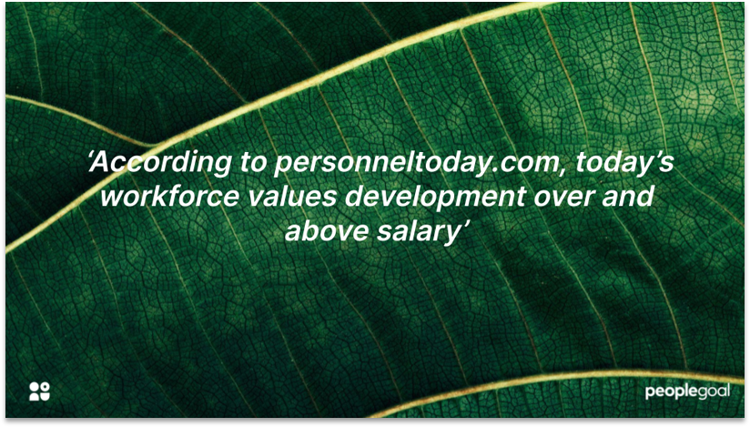 The Value of Employee Growth