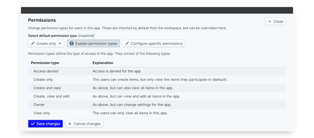 company culture survey permissions