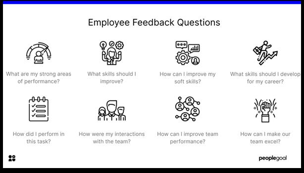 Feedback Questions - employee feedback questions