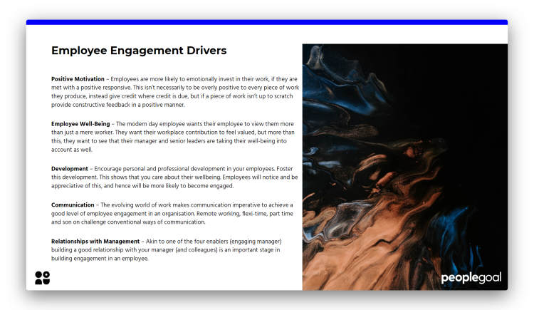 Employee Engagement - Drivers