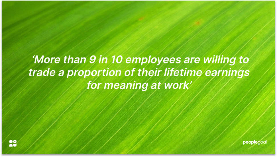 Employee Turnover and Meaning at Work