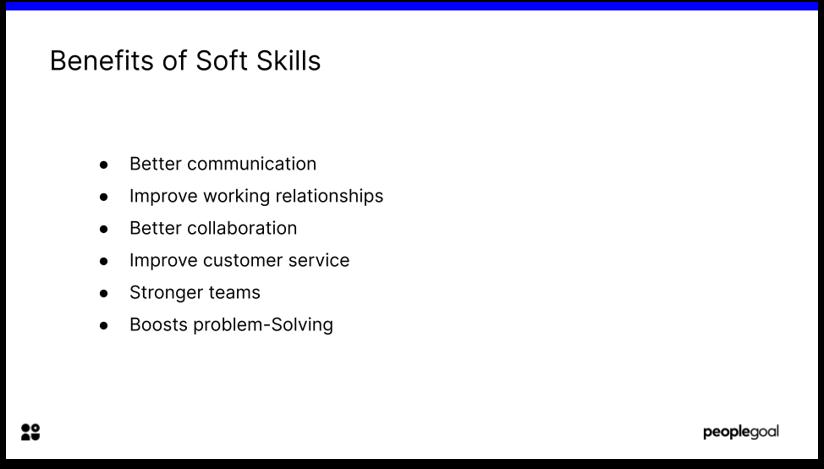 Employee Feedback Benefits of Soft skills