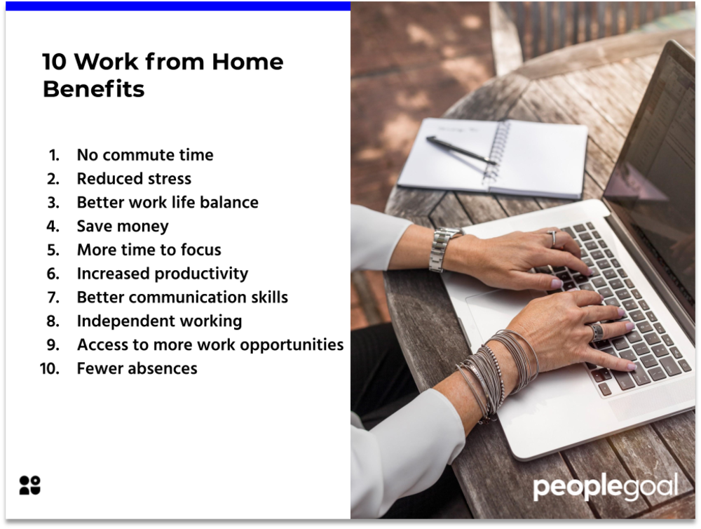 10 Work from Home Benefits