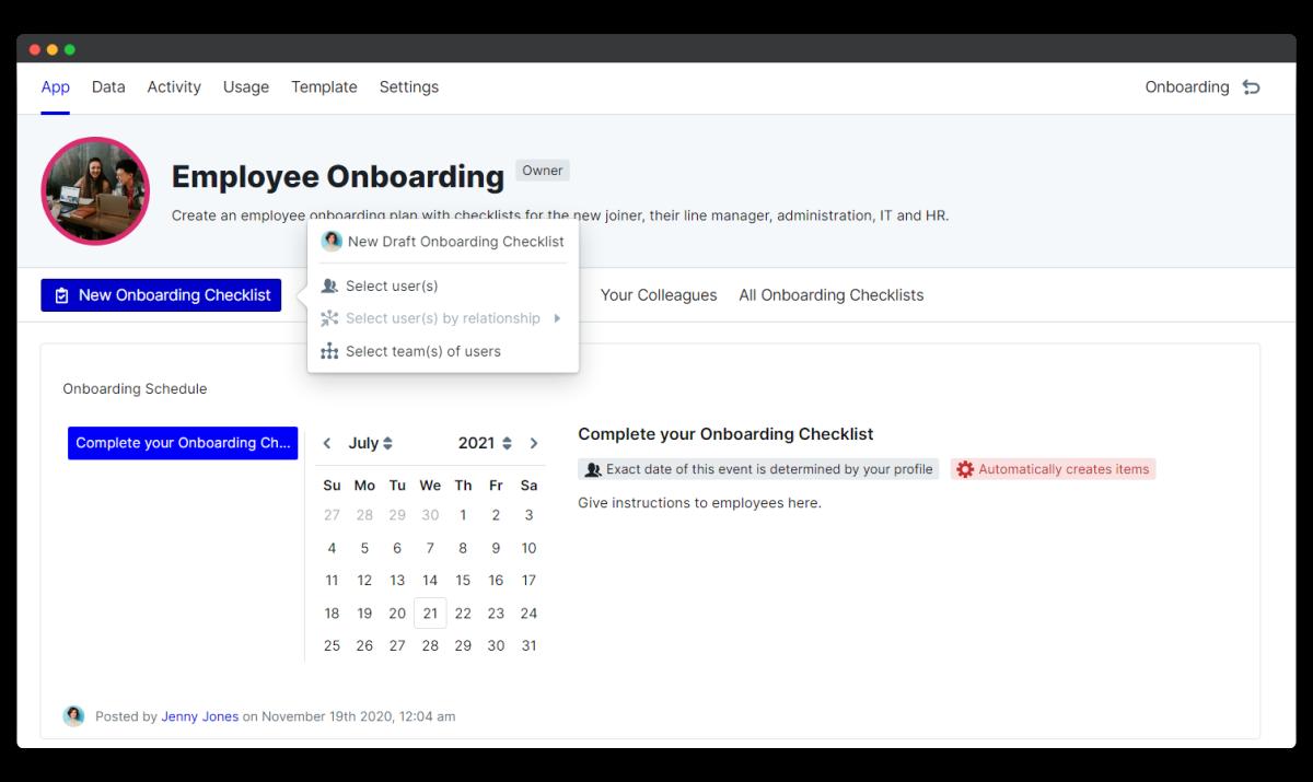 employee onboarding process - new process
