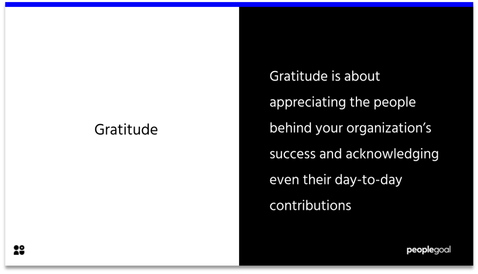 Qualities of a leader - gratitude definition
